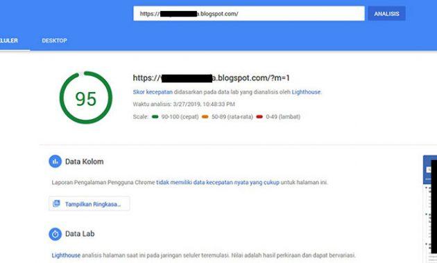 Textrim-score-Google-PageSpeed-default