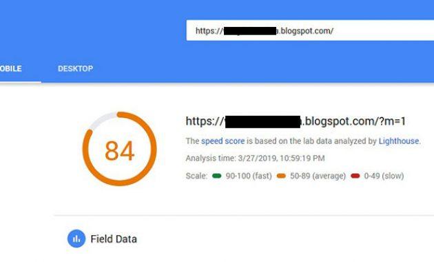 Textrim-score-Google-PageSpeed-iklan-adsense