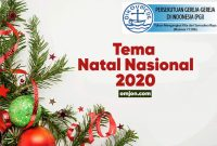 tema subtema natal nasional tahun 2020