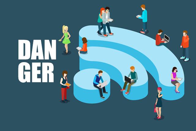 bahaya resiko wifi publik gratis