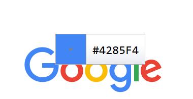 contoh kode warna google