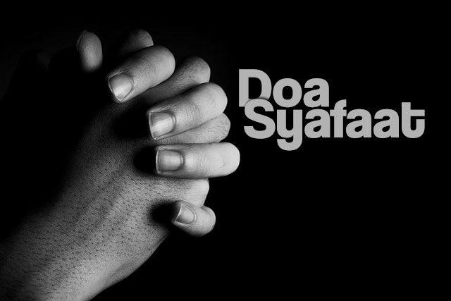 contoh doa syafaat ibadah