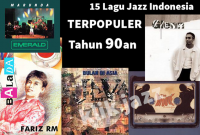 15 lagu jazz indonesia terpopuler tahun 1990an