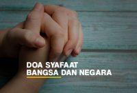 Contoh Doa Syafaat Untuk Bangsa dan Negara di Dunia